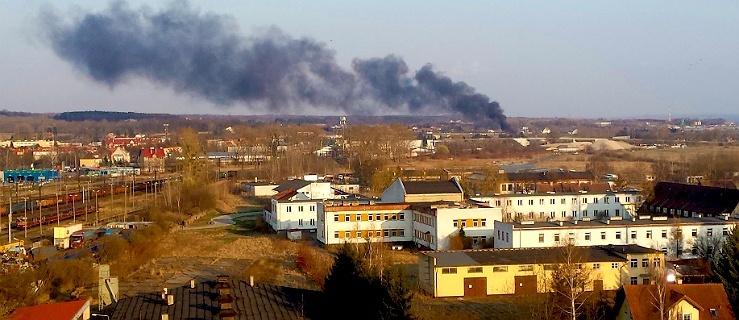 Pożar budynku przy ul. Druskiej