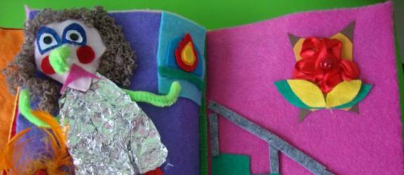 Książeczki czytane dotykiem - wystawa książeczek do bajkoterapii