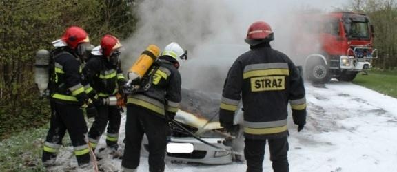 Narusa. Honda w ogniu na drodze
