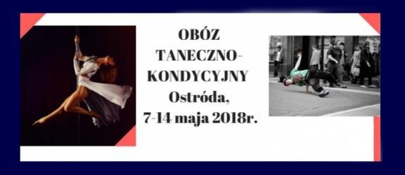 Obóz dla młodzieży polonijnej i Międzynarodowy Turniej Tańca w Ostródzie
