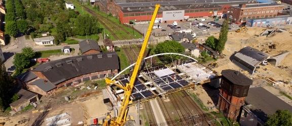Budowa wiaduktu na Zatorze. Zobacz wspaniałe zdjęcia lotnicze z drona! (+ zdjęcia)