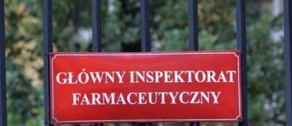 Główny Inspektor Farmaceutyczny wstrzymał sprzedaż kilkunastu popularnych leków