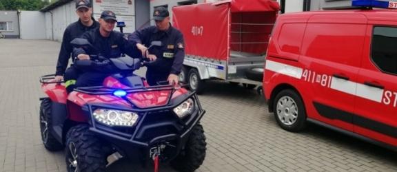 Quad dla braniewskich strażaków. Niebawem także w Elblągu