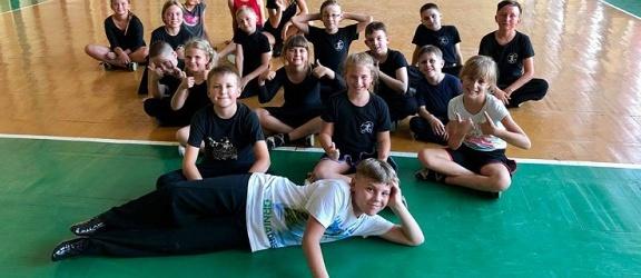 Taneczne obozowanie w Iławie