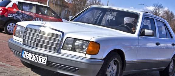 FURA 10 - Mercedes biały