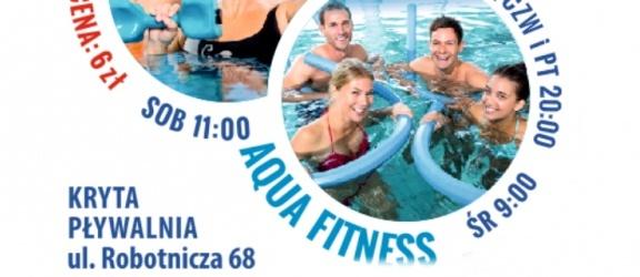 MOSiR zaprasza na niedzielny aqua fitness