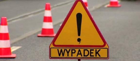 Elbląg. Wypadek na Nowodworskiej. Trzy osoby w szpitalu