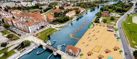 Stefan Rembelski: Wybudujmy plażę miejską na lewym brzegu rzeki Elbląg (+ wizualizacje)
