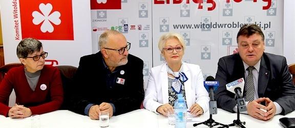 Witold Wróblewski z poparciem Kongresu Kobiet i Komitetu Obrony Demokracji
