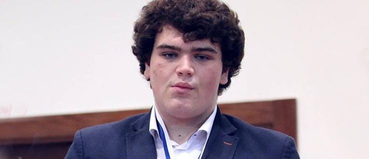 Elblążanin Igor Janik – podwójny wicemistrz świata juniorów w szachach – spotkał się z prezydentem Elbląga