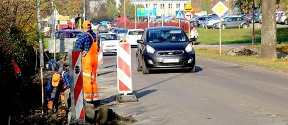 Elbląg. Remontują ulicę Kościuszki. Utrudnienia w ruchu
