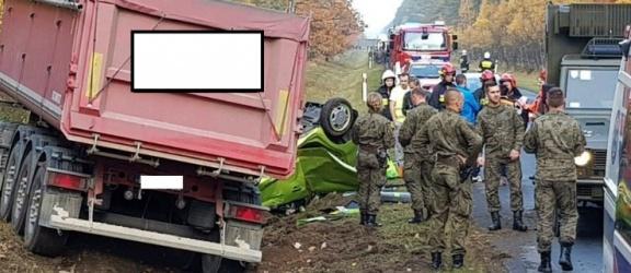 Braniewscy żołnierze ratowali życie ofiarom wypadku