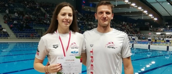 Elblążanka z medalem na mistrzostwach Polski w pływaniu (+ wideo)