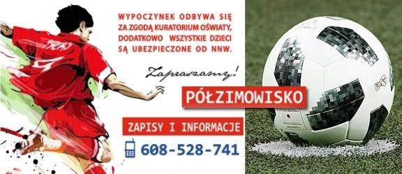 Są jeszcze wolne miejsca na półzimowisku piłkarskim Boros Team!