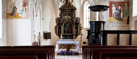 Kościół w Mariance koło Elbląga odkrywa swoje tajemnice