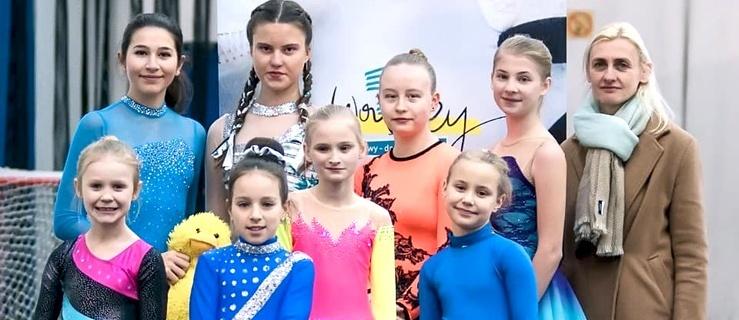 Elbląskie łyżwiarki w Warszawie