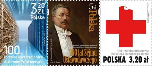 Poczta Polska: wielkie rocznice na małych znaczkach