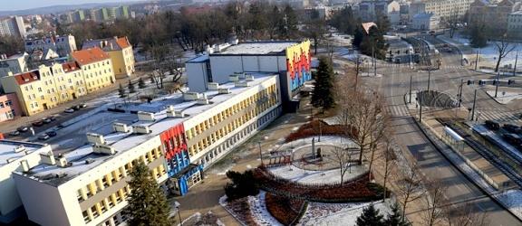 Zimowy widok z wieży Urzędu Miejskiego w Elblągu (+ zdjęcia)