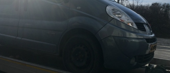 Elbląscy pogranicznicy odnaleźli auto poszukiwane przez Interpol