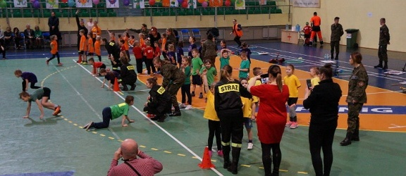 Spartakiada Sportowa dla dzieci z elbląskich przedszkoli