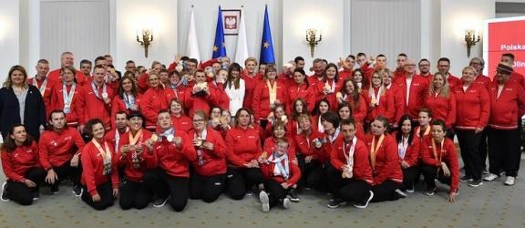Elbląscy sportowcy z wizytą w Pałacu Prezydenckim