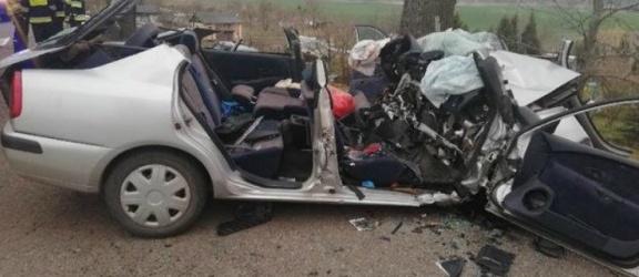 Pijany spowodował wypadek. Zginął pasażer