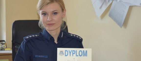 Elbląska policjantka najlepsza w województwie