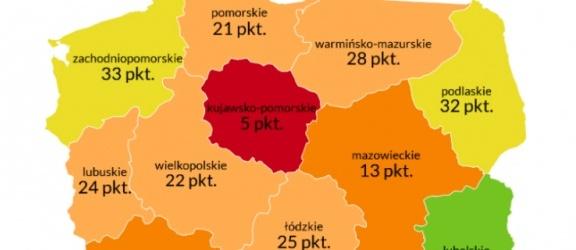 Wskaźnik rzetelności polskich przedsiębiorstw – najuczciwsi na wschodzie i południu