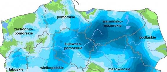 Żuławy wśród regionów Polski najbardziej dotkniętych przez suszę