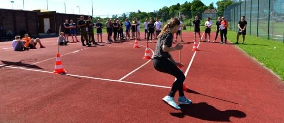 Braniewo. Zawody sportowe i praca w straży granicznej