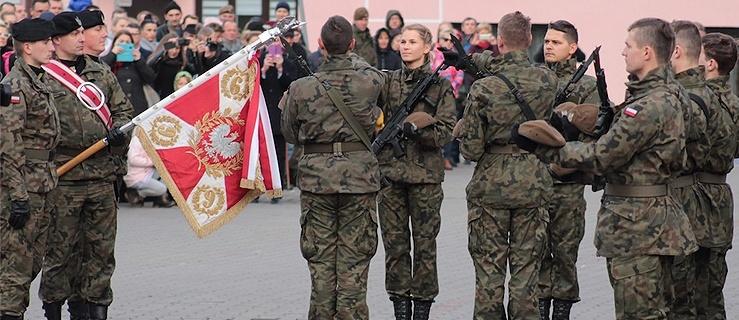 Przysięga Terytorialsów w Braniewie