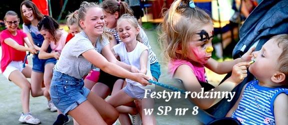 Tak bawiły się rodziny uczniów SP nr 8 na elbląskim Zawodziu (+ zdjęcia)