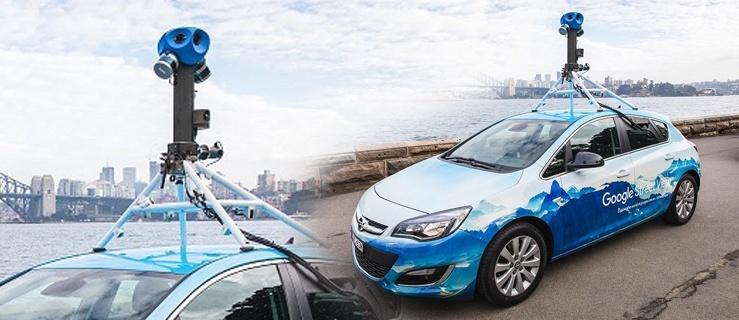 "Nasz Czytelnik: ""Samochód Google Street View jeździ po Elblągu."""