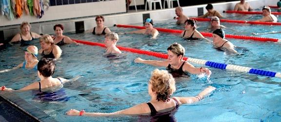 Letnie zajęcia Aqua Fitness na Dolince