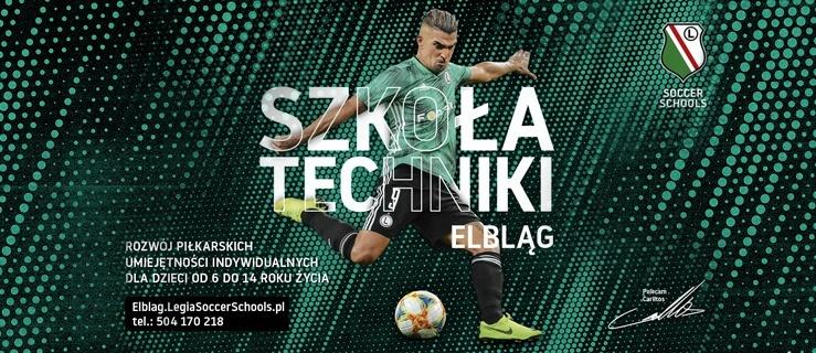 Szkoła Techniki Legii Warszawa - nowy projekt Legia Soccer Schools już od września w Elblągu