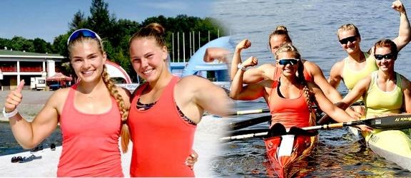 Marta Witkowska i Kinga Jankowska rozbiły bank z medalami na mistrzostwach Polski!