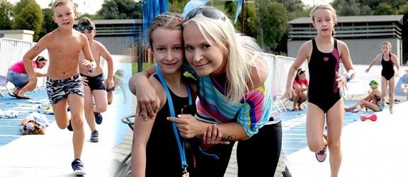 Pływali i biegali w pierwszym I Elbląskim Aquathlonie + zdjęcia