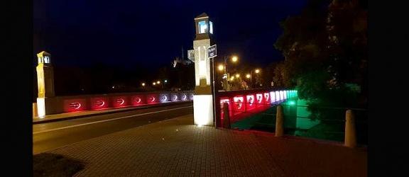 Nowe, energooszczędne lampy uliczne oraz iluminacja mostu w Braniewie