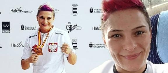 Środowisko bokserskie powitało Sandrę Kruk, brązową medalistkę mistrzostw Europy!