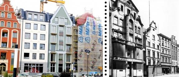 Przy ul. Rybackiej powstają trzy nowe kamienice. Jedna z nich będzie rekonstrukcją (+ zdjęcia)