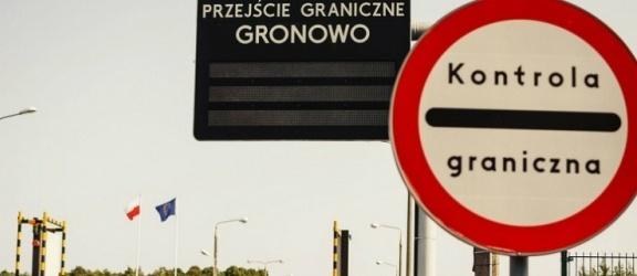Utrudnienia na przejściu w Gronowie i Bezledach