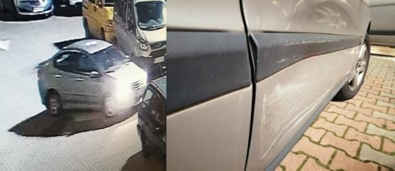 Czytelniczka szuka sprawcy, który uszkodził jej auto na parkingu przy Al. Grunwaldzkiej (+ zdjęcia)
