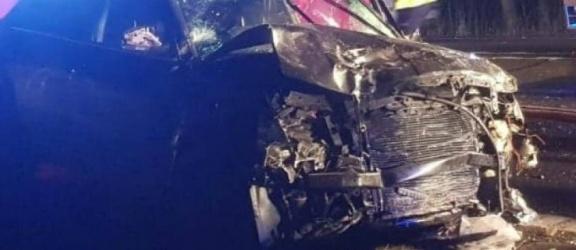 Śmiertelny wypadek na drodze krajowej