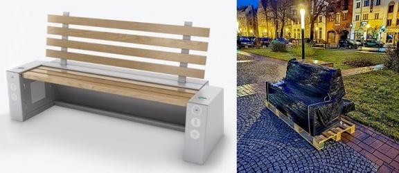 Na Starym Mieście w Elblągu wkrótce staną dwie ławki solarne