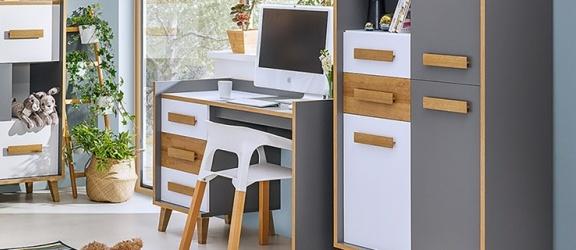 Nowoczesne biurko – sposób na funkcjonalną aranżację
