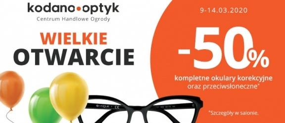 Wielkie otwarcie salonu KODANO Optyk w Elblągu!