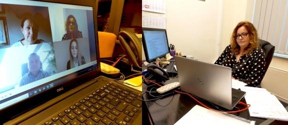 Pierwszy raz w historii PWSZ w Elblągu obrony prac dyplomowych online