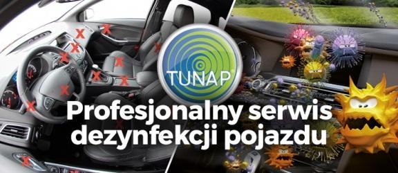 Dezynfekcja klimatyzacji i wnętrza pojazdu w Elblągu