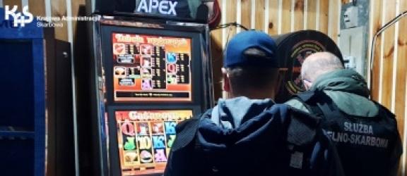 Elbląg. Nielegalne automaty do gier