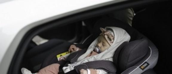 Nosidło dla śpiącego dziecka